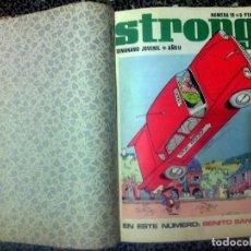 Cómics: LIBRO COLECCION DE SEMANARIO JUVENIL - STRONG - DE NUMERO12 A 18 DEL AÑO 1969. Lote 97783758