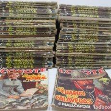 Cómics: LOTE DE 83 LIBROS - EL COYOTE - J.MALLORQUI - DISTINTOS NUMEROS. Lote 97792287
