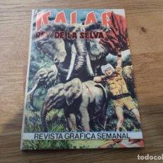 Cómics: KALAR. REY DE LA SELVA. REVISTA GRÁFICA SEMANAL. PRODUCCIONES EDITORIALES. N° 35.. Lote 97916467
