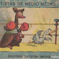 Cómics: CUENTO ARTISTAS DE MEDIO METRO Nº 4 EDICIONES LA TIJERA MADRID. Lote 97919863