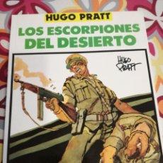 Cómics: COMIC BELICO DE HUGO PRATT AMBIENTADO EN LA GUERRA EN EL NORTE DE AFRICA.. Lote 98012558