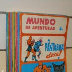 Cómics: LOTE Nº 1 AL 17 MUNDO DE AVENTURAS V SERIE 1973 - 1974 EN PORTUGUES . Lote 98014215