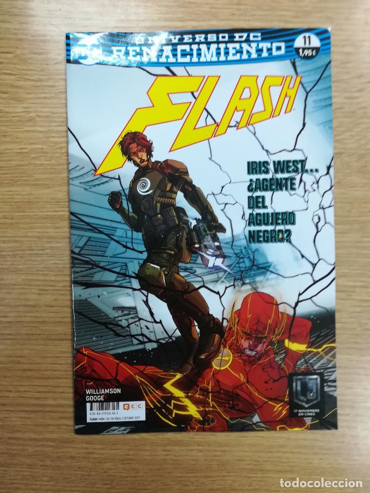 FLASH #25 - RENACIMIENTO #11 (ECC EDICIONES) (Tebeos y Comics - Comics otras Editoriales Actuales)