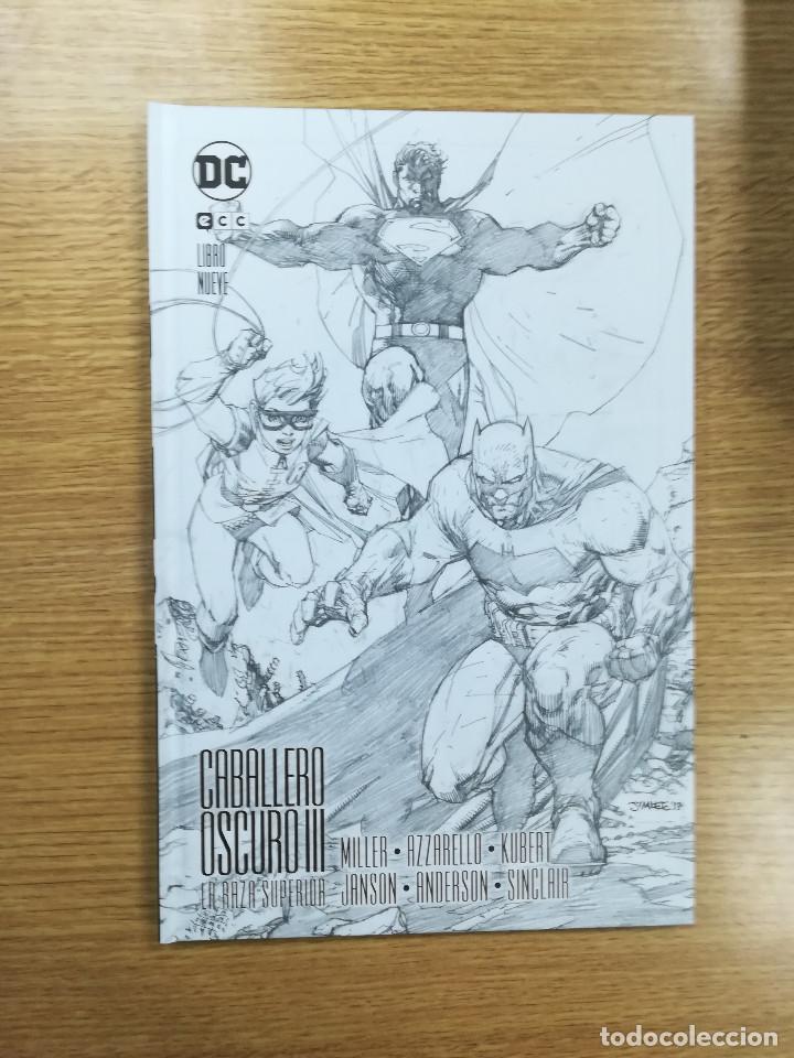 CABALLERO OSCURO III LA RAZA SUPERIOR LIBRO NUEVE (CARTONE) (ECC EDICIONES) (Tebeos y Comics - Comics otras Editoriales Actuales)