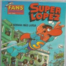 Cómics: SUPER LOPEZ 6 LA SEMANA MAS LARGA. Lote 98548323