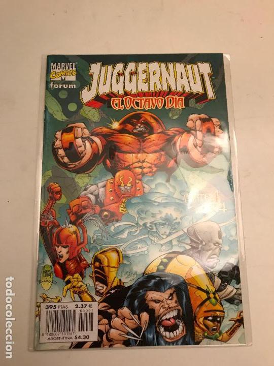 COLECCION COMPLETA DE 1 NUMERO JUGGERNAUT EL OCTAVO DIA. PLANETA DEAGOSTINI. 2000. (Tebeos y Comics - Comics Pequeños Lotes de Conjunto)