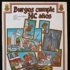 Fumetti: COMIC SOBRE EL MC ANIVERSARIO DE LA CIUDAD DE BURGOS - 1983. Lote 98814563