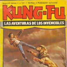 Cómics: KUNG FÚ- Nº 37 -PELEA DE PERROS-1978-JOSÉ ORTIZ-JOSEP GUAL-AMADOR- BUENO-RARO-AMENO-LEAN-8607. Lote 119977807