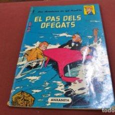 Cómics: LES AVENTURES DE GIL PUPIL·LA , EL PAS DELS OFEGATS - LLIBRES ANXANETA 1966 - COB. Lote 98930655