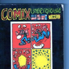 Cómics: COMIX UNDERGROUND USA Nº 2 - EDITORIAL FUNDAMENTO. Lote 98981695