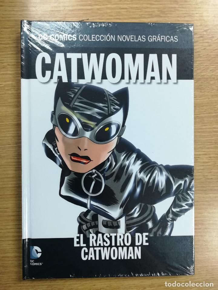 CATWOMAN EL RASTRO DE CATWOMAN (DC COMICS COLECCION NOVELAS GRAFICAS #40) (ECC - SALVAT) (Tebeos y Comics - Comics otras Editoriales Actuales)