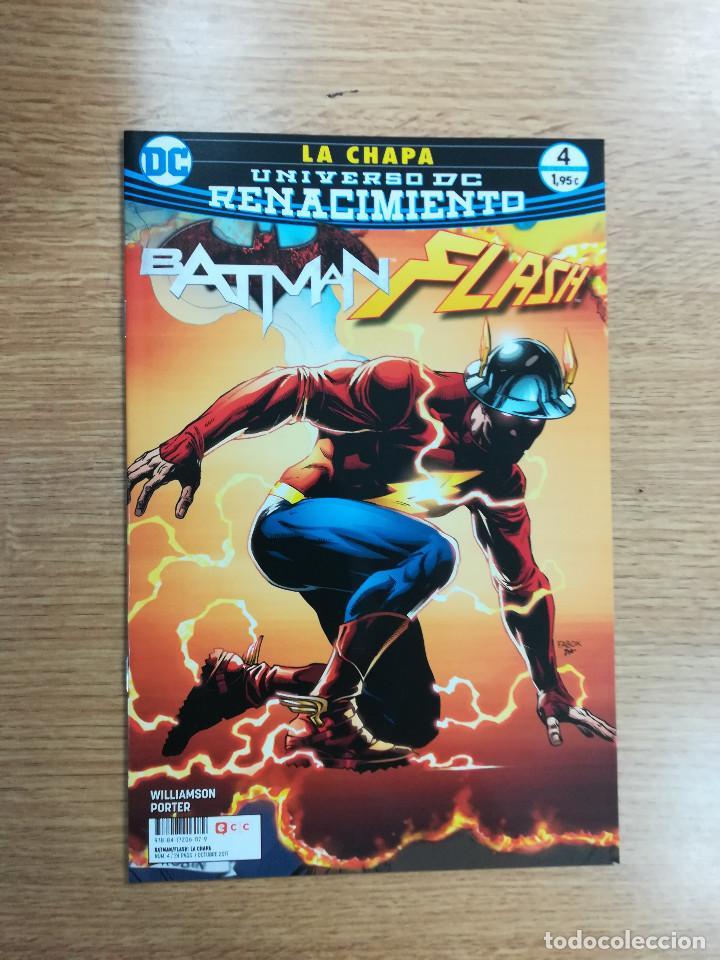 BATMAN FLASH LA CHAPA #4 (Tebeos y Comics - Comics otras Editoriales Actuales)