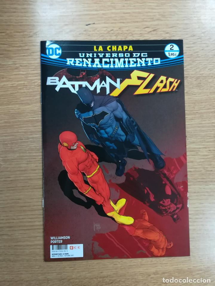 BATMAN FLASH LA CHAPA #2 (Tebeos y Comics - Comics otras Editoriales Actuales)