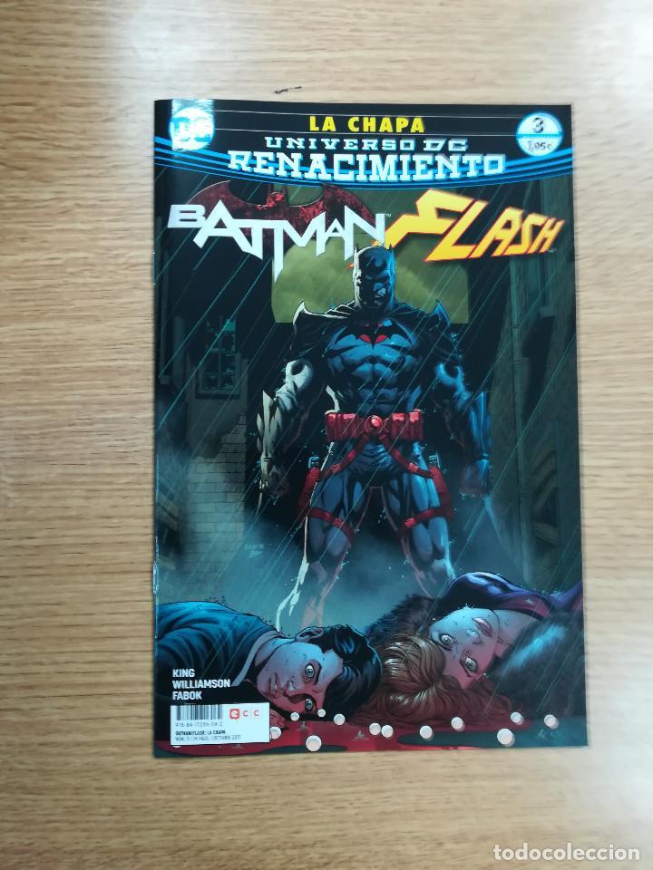 BATMAN FLASH LA CHAPA #3 (Tebeos y Comics - Comics otras Editoriales Actuales)