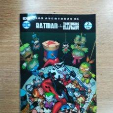Cómics: LAS AVENTURAS DE BATMAN Y LAS TORTUGAS NINJA #2 (ECC EDICIONES). Lote 99084675