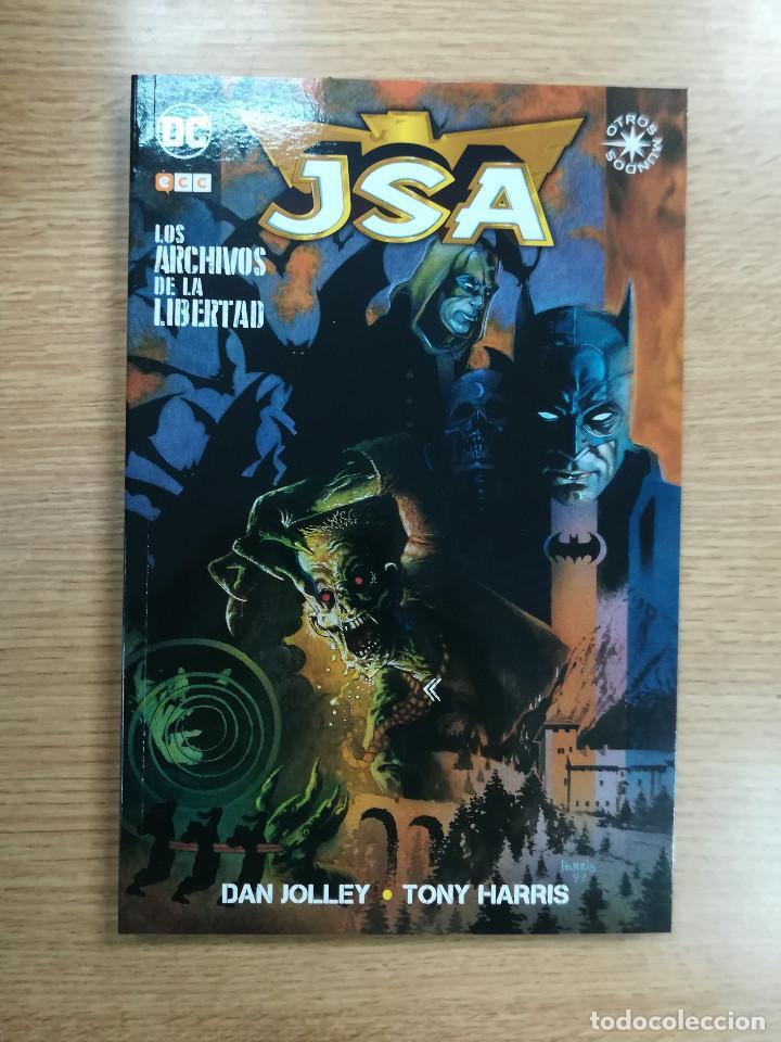 JSA LOS ARCHIOS DE LA LIBERTAD (ECC EDICIONES) (Tebeos y Comics - Comics otras Editoriales Actuales)