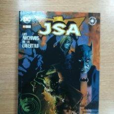 Cómics: JSA LOS ARCHIOS DE LA LIBERTAD (ECC EDICIONES). Lote 99084851