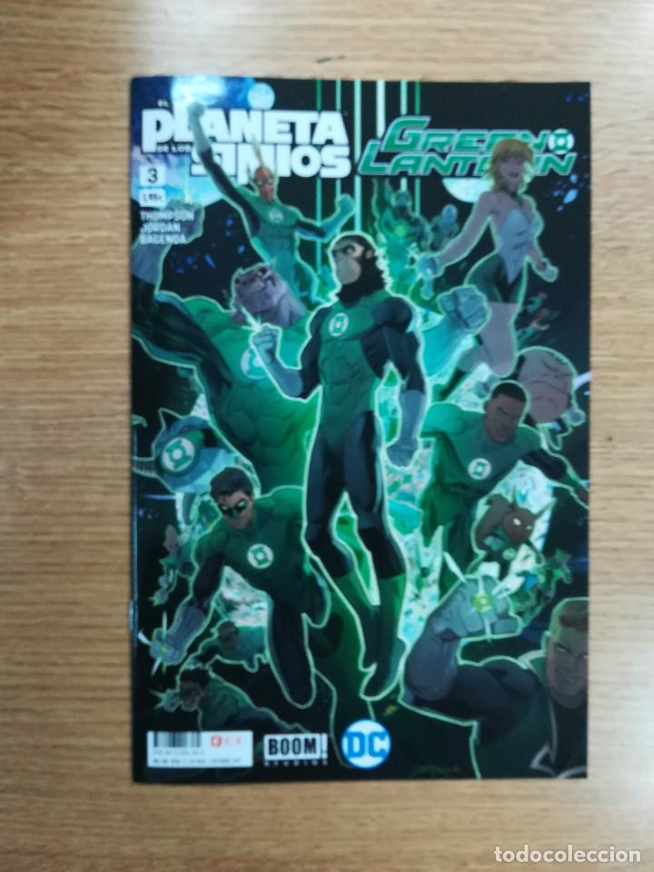 EL PLANETA DE LOS SIMIOS GREEN LANTERN #3 (ECC EDICIONES) (Tebeos y Comics - Comics otras Editoriales Actuales)