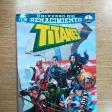 Cómics: TITANES #2 (RENACIMIENTO) (ECC EDICIONES). Lote 99084931