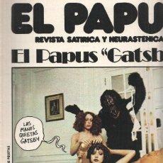Cómics: REVISTA: EL PAPUS, AÑO II, NUMERO 63: EL PAPUS GATSBY (28 DICIEMBRE 1974). Lote 99256482