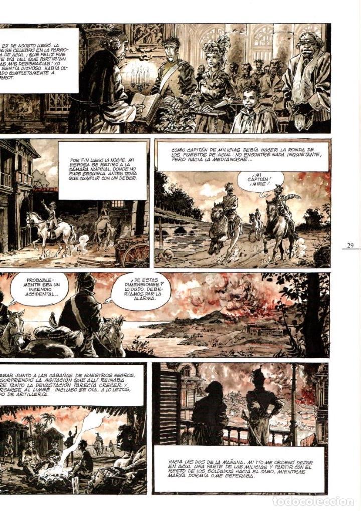 Cómics: BUG JARGAL. IMAGENES DE LA HISTORIA. SERIE AMERICA. SYLVAIN CHOMET. NICOLAS DE CRECY. AÑO 1989. - Foto 2 - 99352887