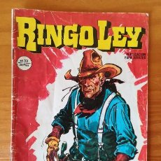 Comics: RINGO LEY 33 ULTRAJE. EDICIONES ALONSO 1979 COMIC JORDI BUXADE.. Lote 99374335