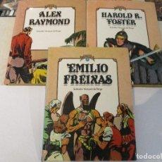Cómics: COLECCION COMPLETA - CUANDO EL COMIC ES NOSTALGIA TRES TOMOS - SALVADOR VAZQUEZ DE PARGA - TOUTAIN. Lote 123414574