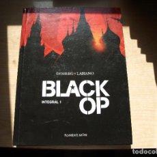 Cómics: BLACK OP - INTEGRAL 1 - TAPA DURA 154 PAGINAS - PONENT MON - AÑO 2017. Lote 99977695