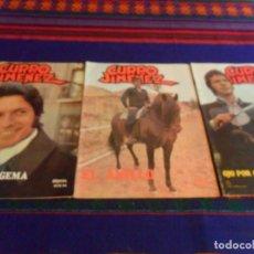 Cómics: CURRO JIMÉNEZ NºS 8, 15, 22 Y 24 Y ÚLTIMO. SEDMAY 1977. 60 PTS. RAROS EN MUY BUEN ESTADO.. Lote 100144219