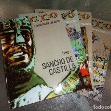 Cómics: EL CID COMPLETA 4 TOMOS ANTONIO HERNANDEZ PALACIOS NUEVOS.CF. Lote 100234859
