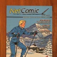 Cómics: NET COMIC MAGAZINE. N. 3 FEBRERO 2011 NETCOM2. IMPECABLES. Lote 100256831