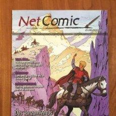 Cómics: NET COMIC MAGAZINE. N. 4 ABRIL 2011 NETCOM2. IMPECABLES. Lote 100256915