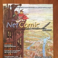 Cómics: NET COMIC MAGAZINE. N. 5 JUNIO 2011 NETCOM2. IMPECABLES. Lote 100256995