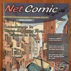 Cómics: NET COMIC MAGAZINE. N. 8 DICIEMBRE - ENERO 2012 NETCOM2. IMPECABLES. Lote 100257215