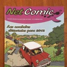 Cómics: NET COMIC MAGAZINE. N. 9 FEBRERO 2012 NETCOM2. IMPECABLES. Lote 100257283