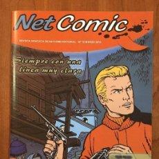 Cómics: NET COMIC MAGAZINE. N. 10 MARZO 2012 NETCOM2. IMPECABLES. Lote 100257339
