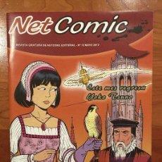 Cómics: NET COMIC MAGAZINE. N. 12 MAYO 2012 NETCOM2. IMPECABLES. Lote 100257615