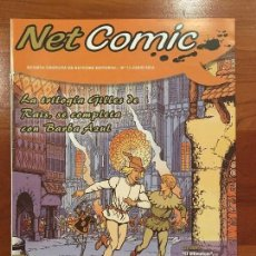 Cómics: NET COMIC MAGAZINE. N. 13 JUNIO 2012 NETCOM2. IMPECABLES. Lote 100258167