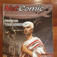 Cómics: NET COMIC MAGAZINE. N. 17 NOVIEMBRE 2012 NETCOM2. IMPECABLES. Lote 100258563
