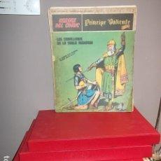 Cómics: VALIENTE 7 TOMOS COLECCION 1972 BURULAN EN MUY BUEN ESTADO,REGALADA. Lote 100455183