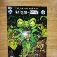 Cómics: LAS AVENTURAS DE BATMAN Y LAS TORTUGAS NINJA #3 (ECC EDICIONES). Lote 100704071