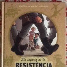 Cómics: ELS INFANTES DE LA RESISTÈNCIA. Lote 100720799