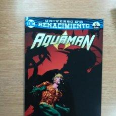 Cómics: AQUAMAN #20 - RENACIMIENTO #6 (ECC EDICIONES). Lote 100741795