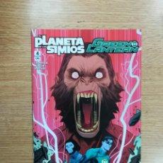 Cómics: EL PLANETA DE LOS SIMIOS GREEN LANTERN #4 (ECC EDICIONES). Lote 100741851