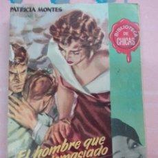 Cómics: EL HOMBRE QUE AMO DEMASIADO PATRICIA MONTES BIBLIOTECA DE CHICAS. Lote 101041882