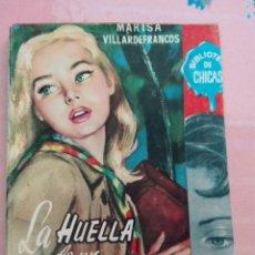Cómics: LA HUELLA DEL PASADO MARISA VILLARDEFRANCOS BIBLIOTECA DE CHICAS. Lote 101041972