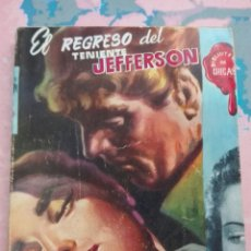 Cómics: EL REGRESO DEL TENIENTE JEFFERSON BIBLIOTECA DE CHICAS. Lote 101042235