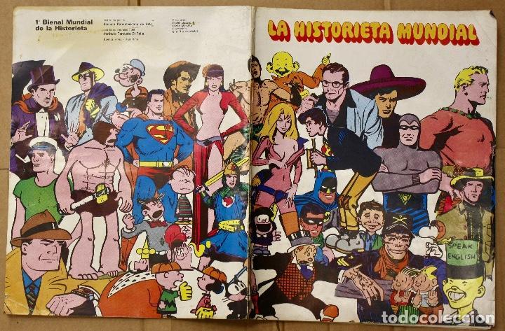 LA HISTORIETA MUNDIAL. 1ª BIENAL MUNDIAL DE LA HISTORIETA. BUENOS AIRES. AÑO 1968 (Tebeos y Comics - Comics otras Editoriales Actuales)