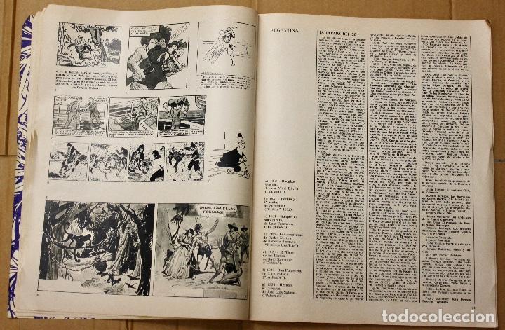 Cómics: LA HISTORIETA MUNDIAL. 1ª BIENAL MUNDIAL DE LA HISTORIETA. BUENOS AIRES. AÑO 1968 - Foto 3 - 101051223