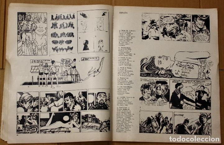 Cómics: LA HISTORIETA MUNDIAL. 1ª BIENAL MUNDIAL DE LA HISTORIETA. BUENOS AIRES. AÑO 1968 - Foto 4 - 101051223